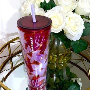 Starbucks Spring 2021 Pink Floral Twist Tumbler 🌸